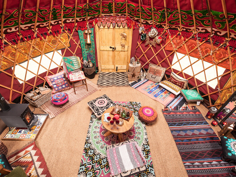 16ft Yurt Hire