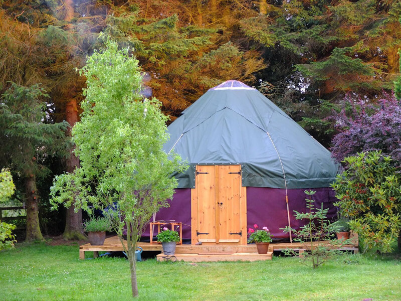 18ft Yurt Hire
