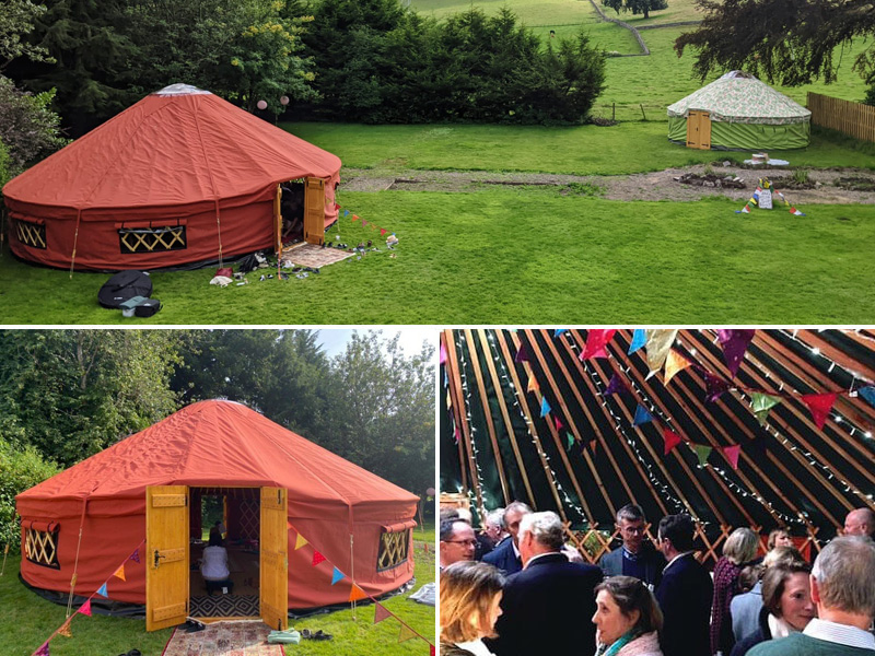 26ft Yurt Hire
