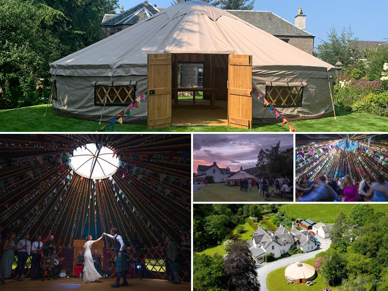 33ft Yurt Hire