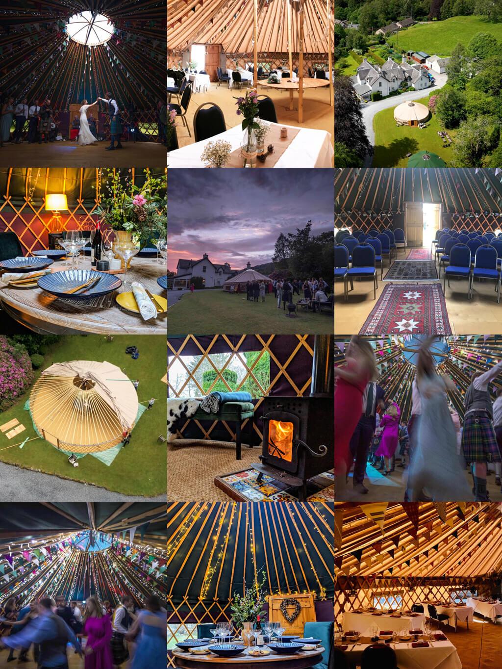 Handcrafted Bespoke Wedding Venue Dragonfly Yurts